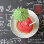 Frozen watermeloen cooler