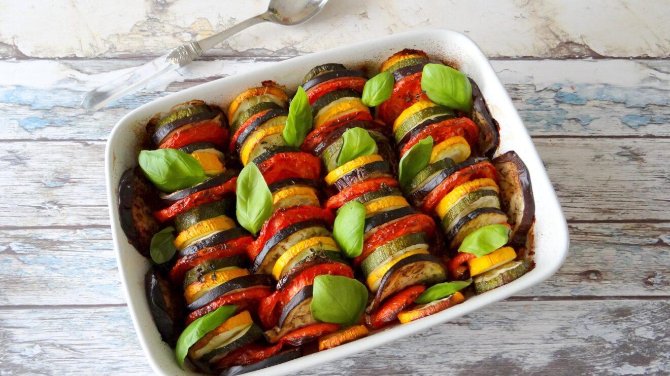 Provençaalse groenteschotel Tian