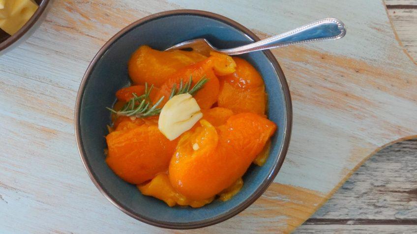 Gemarineerde geroosterde paprika's