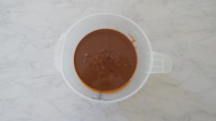 Homemade chocolade ijs zonder ijsmachine