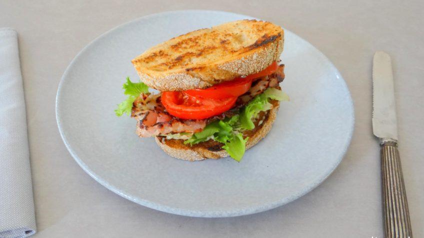 Amerikaanse BLT sandwich