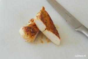 Rauwe kip wassen voor het bakken of niet
