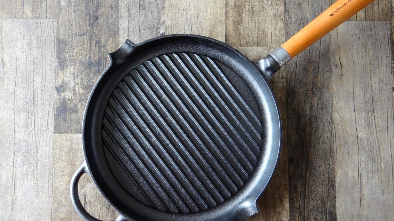 Mijn perfecte gietijzer grillpan