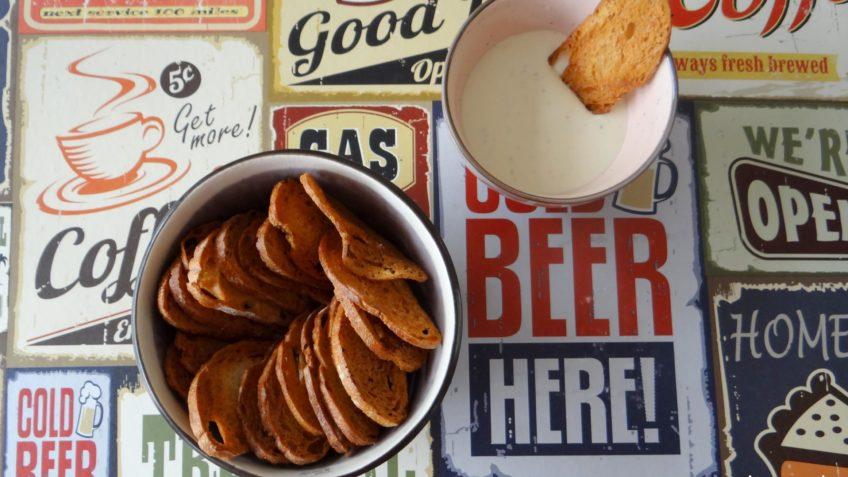 Broodchips maken