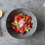 Gnocchi met in de oven geroosterde tomaatjes