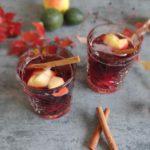 Herfst Sangria met appel en peer