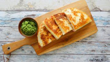 Italiaanse quesadilla's