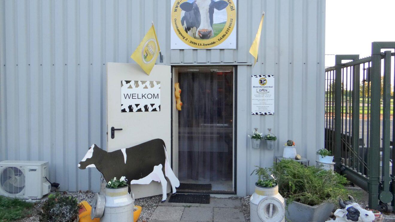 Op bezoek bij een kaasboerderij