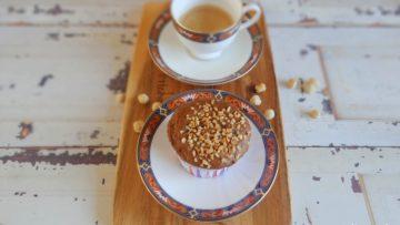 Hazelnoot koffiemuffins