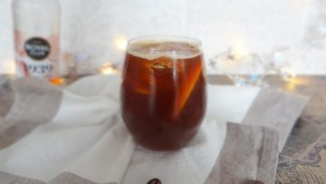 Koffie bloedsinaasappel mocktail