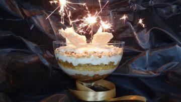 Trifle met mascarpone en Frangelico