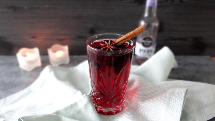 Bramen wild berries mocktail
