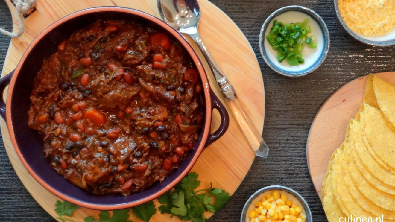 Chili con carne stoofvlees