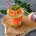 Citrus passiefruit mocktail