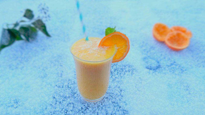 Versla jouw winterdip met deze antigriep mango mandarijn smoothie