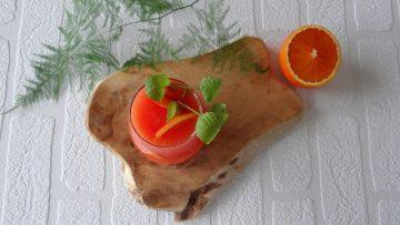 Mojito van bloedsinaasappels