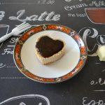 Mokka cheesecake hartjes