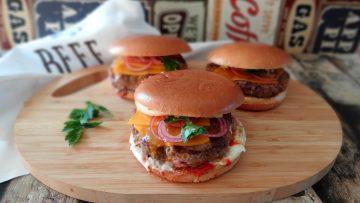 Mega cheeseburgers