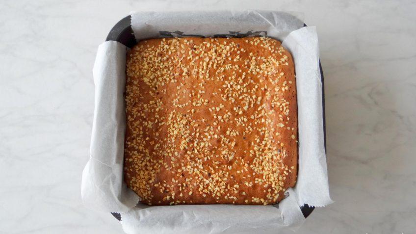Pindakaas noten brownies