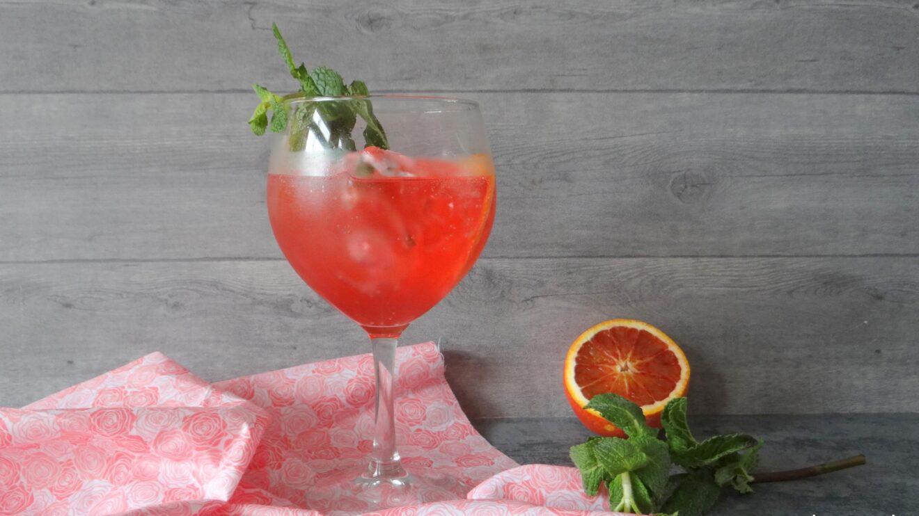 Roze Gin Tonic