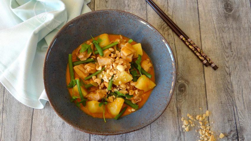 Thaise Massaman curry met kip