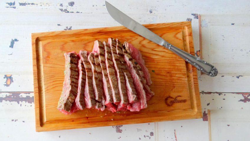 Carne asada van bavette