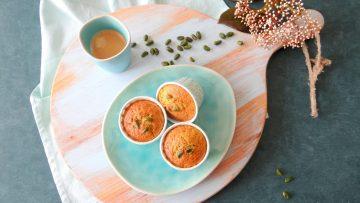 Mooie groene pistache muffins