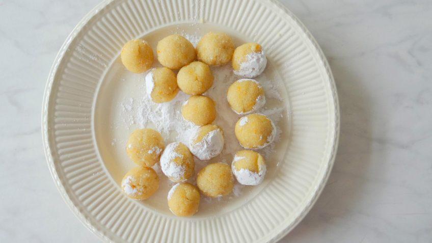 Zachte amaretti koekjes