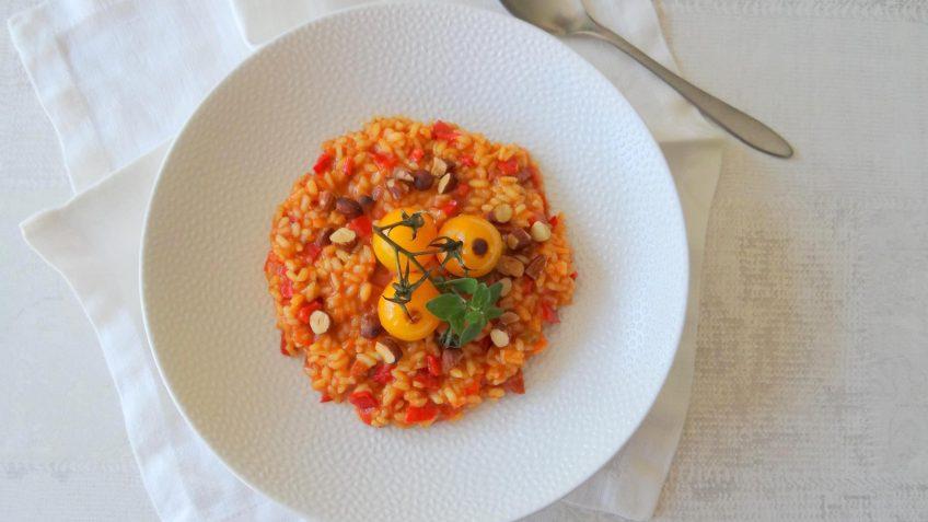 Spaanse rode rijst met chorizo