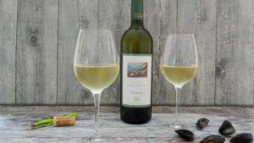 Een heerlijke wijn bij mosselen