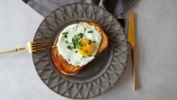 Croque madame tosti