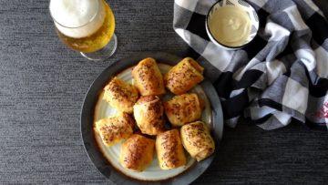 Curryworst saucijsjes met zuurkool