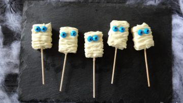 Rice crispy mummies