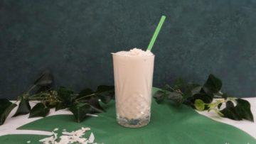 Vietnamese koffie milkshake