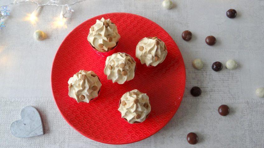 Sinterklaasmuffins met speculoos topping