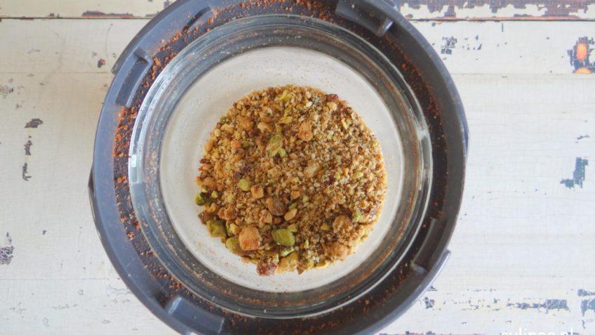 Zoete dukkah met pistachenoten