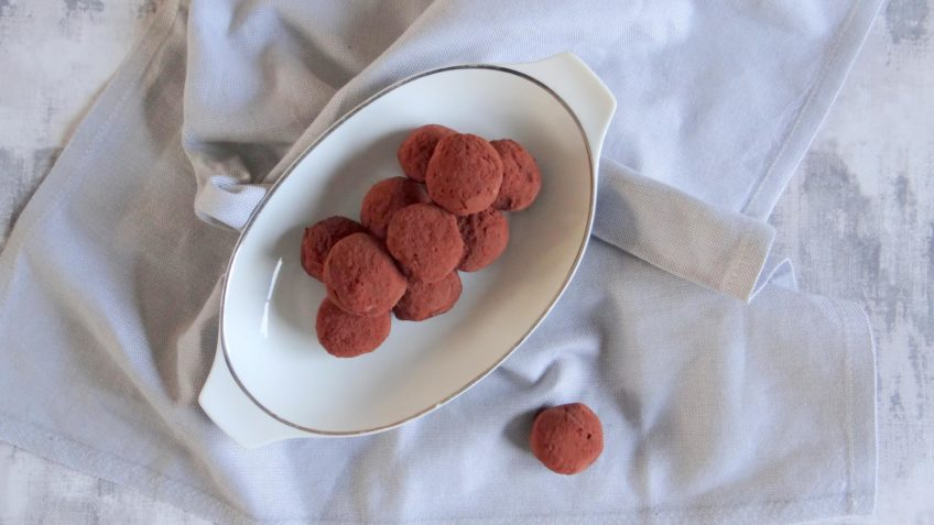 Chocolade truffels met een kick