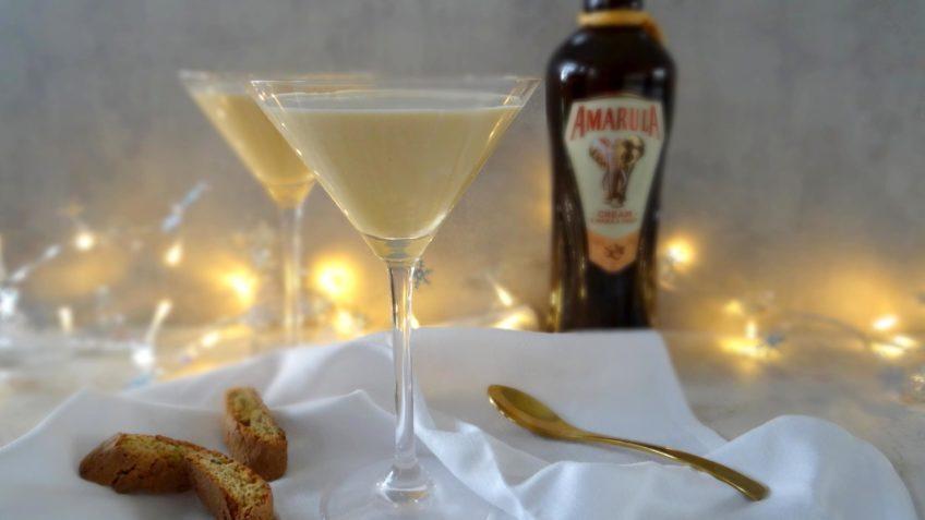 Sabayon met Amarula en Cantuccini