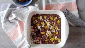 Smeuïge chocoladecake uit de oven