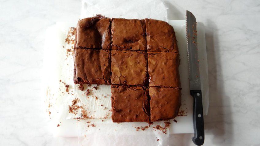 Heerlijke smeuïge brownies