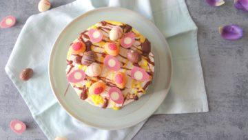 Frisse citroen cheesecake met Paaseitjes