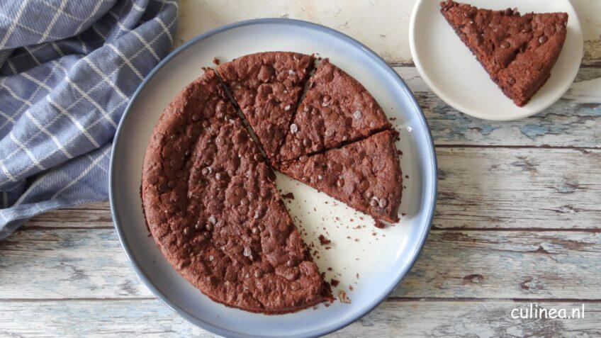 Mega chocolade koek