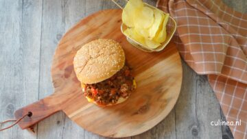 BBQ Sloppy Joe van pulled oats