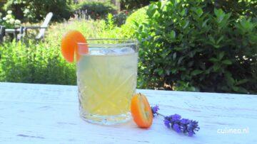 Kumquat lavendelsiroop