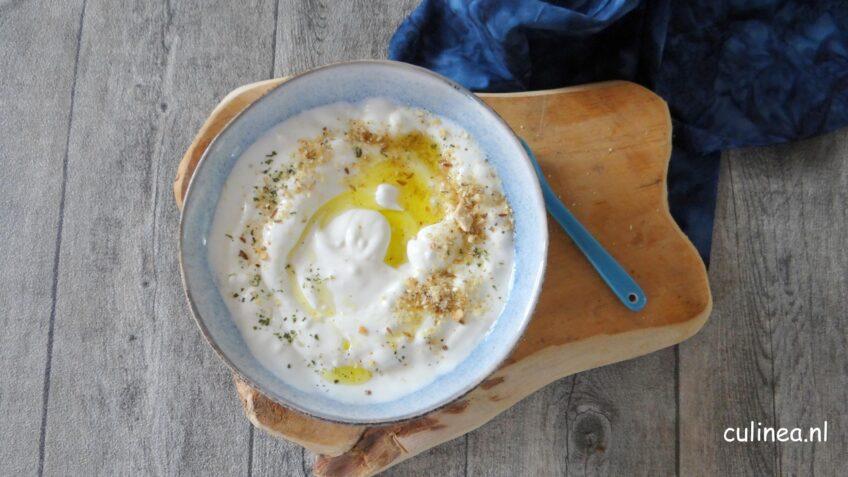 Labneh van geitenyoghurt