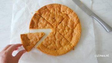 Mega koek met chocolade en fudge