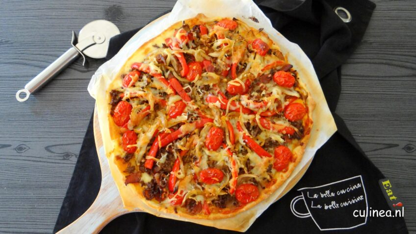 Hamburger Pizza