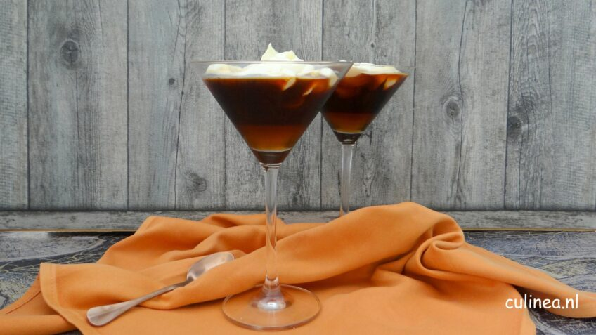Chai coffee mocktail