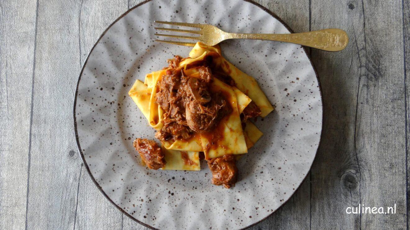 Italiaans stoofvlees van rund