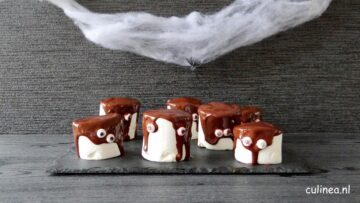 Halloween marshmallow monsters